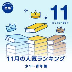 ★少年・青年編★11月の売れ筋ランキング