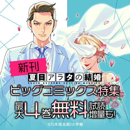 『夏目アラタの結婚』『バイ・スプリング』新刊!ビッグコミックス特集