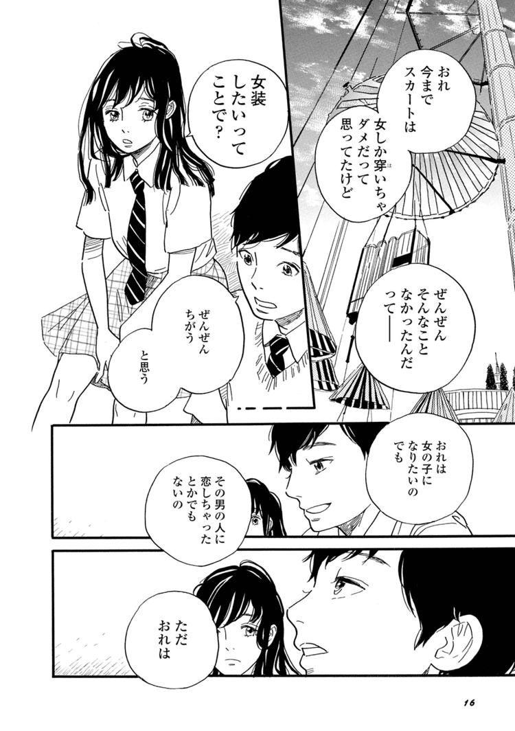 ボーイ☆スカート